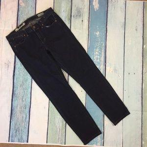 Madewell Dark Wash Skinny Skinny Jeans 27